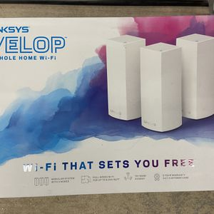 Linksys® Velop™ Whole Home Wi-Fi Mesh System - 3 Nodes - Modem Router System for Sale in Hudson, NH