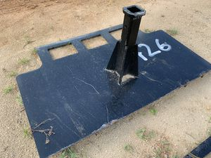 Skid steer hitch attachment plate for sale for Sale in Miami, FL