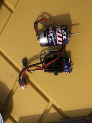 Traxxas motor and esc for Sale in Costa Mesa, CA