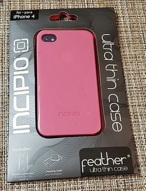 Incipio iPhone 4 Feather Case for Sale in Fremont, CA