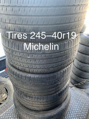Tirez 245-40r19 Michelin for Sale in Anaheim, CA