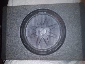 Kicker Bass station PT 250 with built in amplifier for Sale in Smyrna, TN