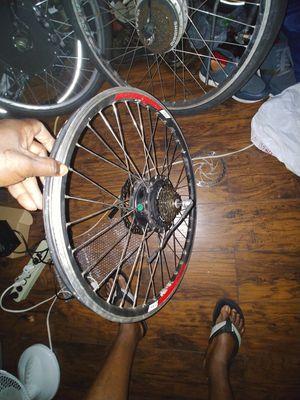 3 electric bike wheel 2 36v 1. 48v for Sale in New York, NY