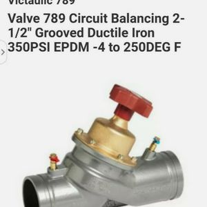 Balancing Valve Size 3 for Sale in Houston, TX