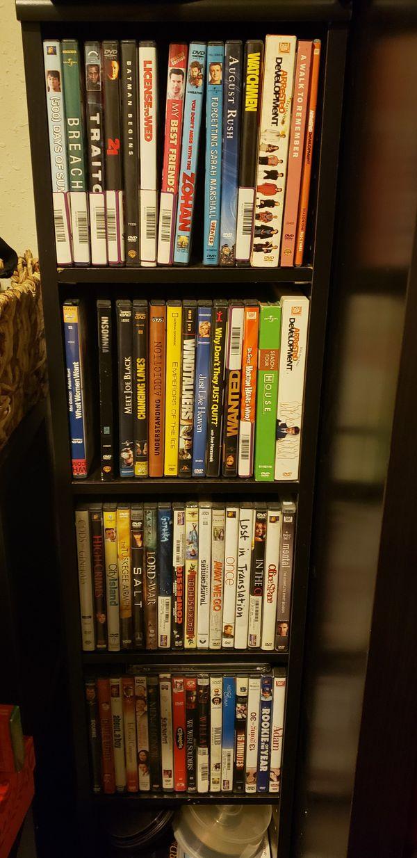 DVD's - 60+