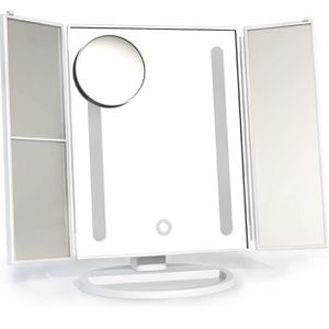 Vanity Mirror Trifold LED Lights 2x/3x/10x Magnification for Sale in Glendora, CA