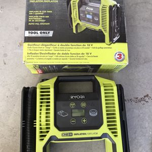 RYOBI 18-Volt ONE+ Dual Function Inflator/Deflator (Tool Only) for Sale in Phoenix, AZ