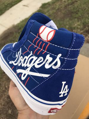 SK8-Hi Reissue MLB (baseball) Los Angeles Dodgers Hi Tops for Sale in South Gate, CA