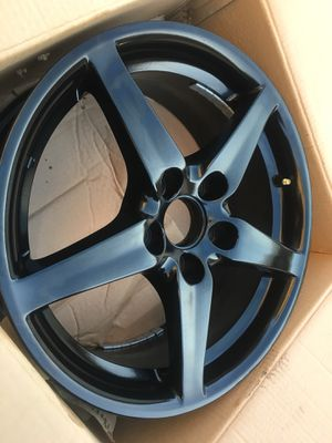 05-06 Acura Rsx Dc5 Type S Wheels Matte Black Perfect condition $600.00 Firm for Sale in Bell Gardens, CA