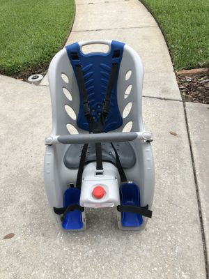 Schwinn Deluxe Bicycle Mounted Child Carrier/Bike Seat for Sale in Valrico, FL