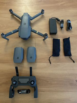Mavic Pro Drone with 3 batteries, a pro controller, and travel case!! for Sale in Miami, FL