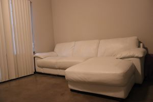 White Couch For Sale! for Sale in Houston, TX