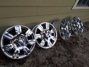 09 -12 OEM FORD F15O RIMS (SET OF 4) no scratches for Sale in Duluth, GA