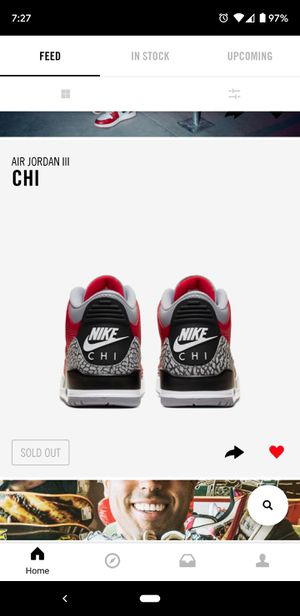Brand New Jordan 3 retro chi for Sale in San Marcos, CA