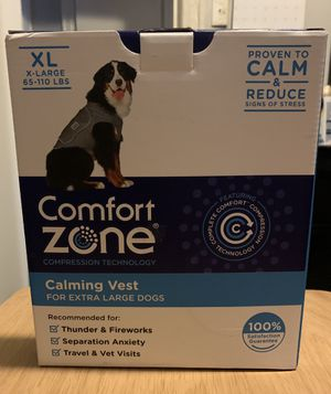 Dog calming vest for Sale in The Bronx, NY