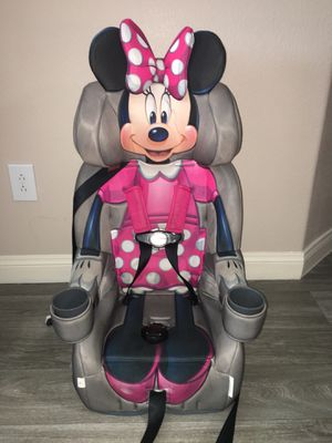 KidsEmbrace Disney's Minnie Mouse booster car seat for Sale in Henderson, NV