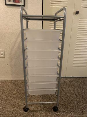 8 Drawer Rolling Storage Cart for Sale in Winter Garden, FL