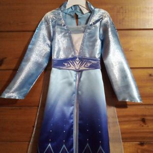 Disney Frozen Elsa Dress & Boots For Sale. Like New Size L (3-5 years) Only $20 For All for Sale in Miami, FL