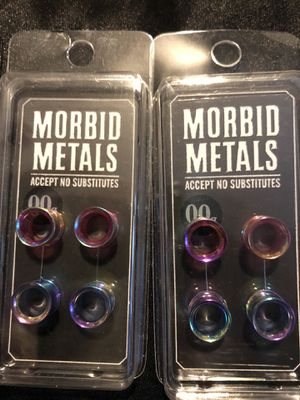 Ear Plugs / Gauges / Tunnels - 00g for Sale, used for sale  El Monte, CA