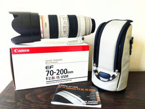 Canon 70-200mm 2.8 IS lens for Sale in Bowie, MD