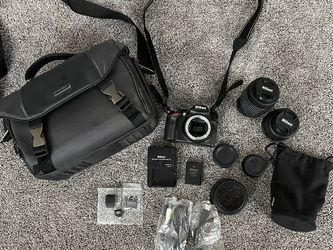 Nikon D3200 HD SLR for Sale in Mount Hamilton,  CA
