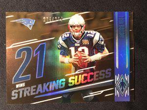2016 Panini Phoenix New England Patriots Tom Brady SP/299 Football Card for Sale in Dallas, TX