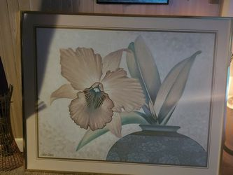 Huge Picture Frame Good Condition. Janson Turner Painting 60 By 48. for Sale in Newport News,  VA