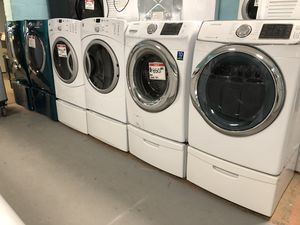 Front load washer and dryer sets 90 days full warranty for Sale in Owings Mills, MD