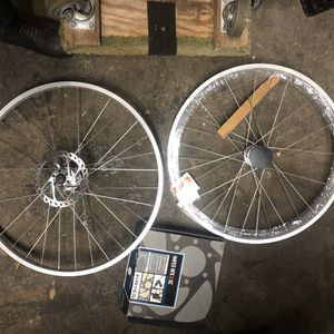 "26"" Sun Rims front and rear Reyno-lite with Hayes brakes for Sale in Auburn, WA"