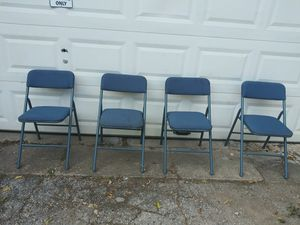 4 FOLDABLE COSCO CHAIRS $50 FIRM for Sale in Fort Worth, TX