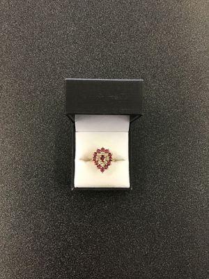 Pear cluster diamond ring for Sale in Grand Prairie, TX