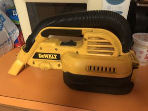 Dewalt Vacuum 18 volt. for Sale in Hazleton, PA