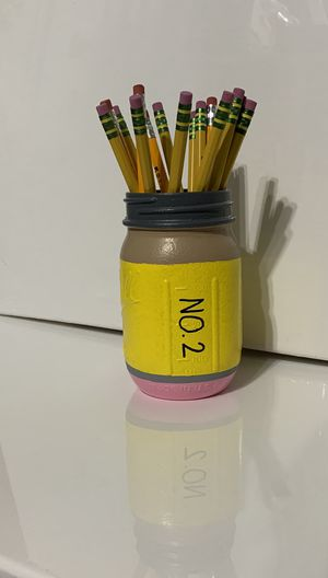 Pencil mason jars for Sale in Peoria, AZ