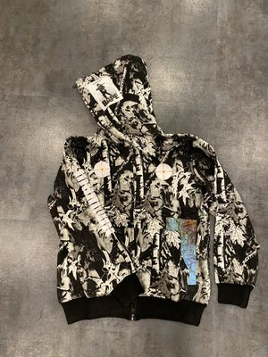 Sniper grey bape hoodie XL L M for Sale in Los Angeles, CA