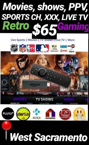 Amazon Fire TV for Sale in Sacramento, CA