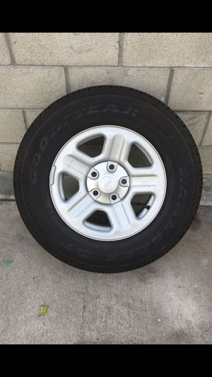 Jeep wheel with rim brand new size 14 for Sale in Los Angeles, CA
