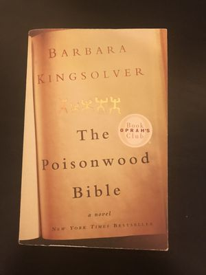 The Poisonwood Bible by Barbara Kingsolver, paperback for Sale in Crozet, VA