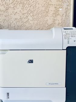 HP LASERJET PRINTER P4015N- USB PORT AND NETWORK PORT - IN GOOD CONDITION - WITH 86% Toner Cartridge ink About More 7000 Pages Still Inside for Sale in Stanton,  CA