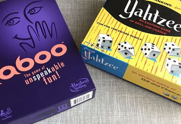 New Board Games- Taboo(used once) & Yahtzee(never used)  for Sale in Burbank, CA