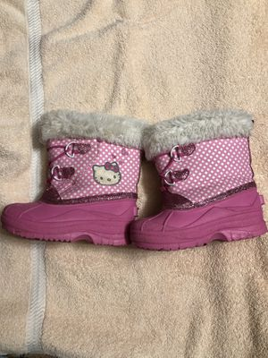 Hello Kitty 9/10 boots girls for Sale in Portage, IN