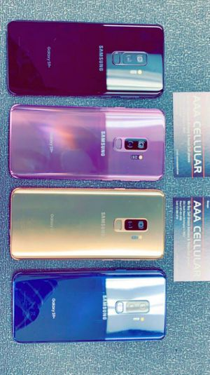 Samsung Galaxy S9 Plus 64gb Factory Unlocked, Like New! December SALE (11:30AM-6PM) for Sale in Arlington, TX