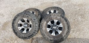 Toyo LT 315/75/16 35x12.50x16 Open Country Tires with Dick Cepek Wheels 8x170 Pattern for Sale in Monitor, WA