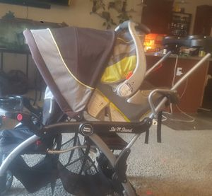 Baby Trend sit and stand stroller for Sale in Colorado Springs, CO