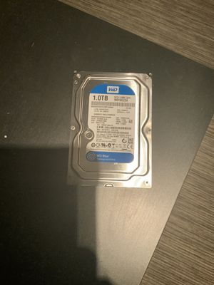 1TB 3;5 standard hdd for Sale in Chicago, IL