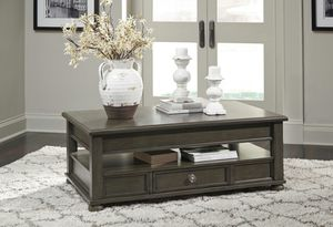 Ashley Furniture Gray Lift Top Coffee Table for Sale in Santa Ana, CA