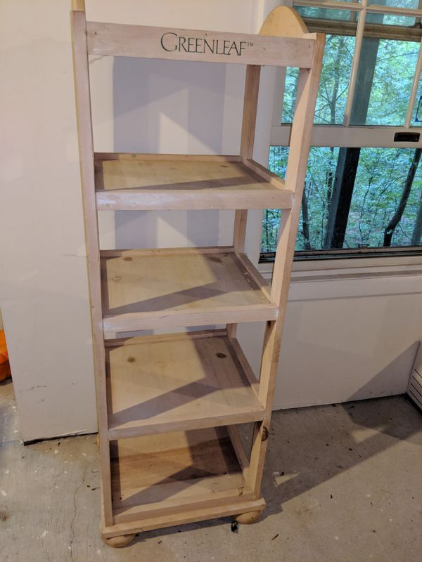 2 matching wood bookshelves + 1 additional shelving units (contents not included), possible bonus third wood bookshelf