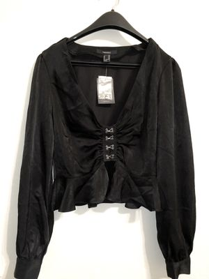 Forever 21 | Black Fringed Silk top for Sale in Chandler, AZ
