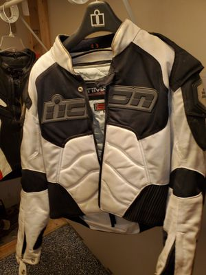 Icon textile motorcycle jacket for Sale in Chicago Heights, IL