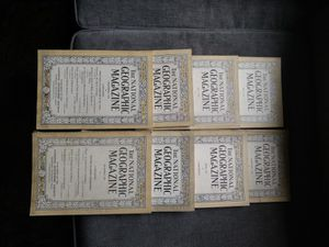 1920 editions of national geographic magazines for Sale in Sunbury, OH