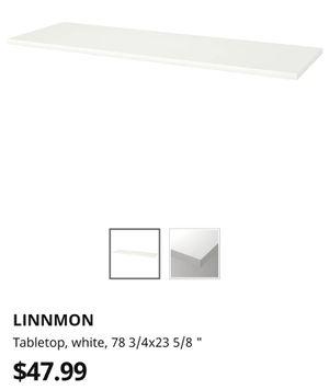 Linnmon White Table Top for Sale in Peoria, AZ